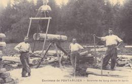 PONTARLIER - Reproduction SCIEURS DE LONG DANS LA FORET, Les Petits Métiers De Paris, Tirailleurs Chinois Tonkin - La Baule-Escoublac