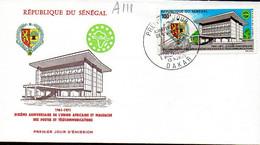 Senegal A 111 Fdc Union Postale Africaine Et Malgache - Post