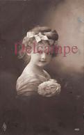 CPA Fantaisie - Jolie Petite Fille Fillette - 1911 - Portraits