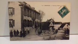 Badevel (25) Café Du Vallon Et Le Pont.19.. (animée ,enfants,café...)(S15-21)1 - Otros Municipios