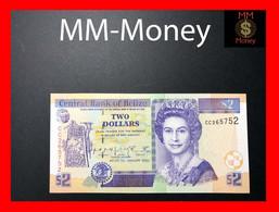 Belize 2 $ 1.1.2002 P. 60 B UNC - Belize