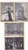 Lot De 5 Chromo -publicité Sucre Castillan - Mme Delvair , Le Bargy , Theatre - Other