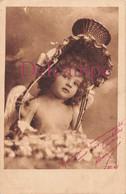 CPA Fantaisie - Petite Fille Ange Et Drôle De Chapeau - 1904 - Angels