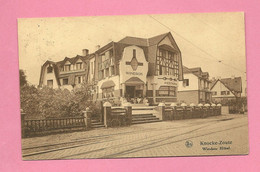 C.P. Knokke Zoute  =   WINDSOR  HOTEL - Knokke