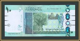 Sudan 10 Pounds 2017 P-73 (73c) UNC - Sudan