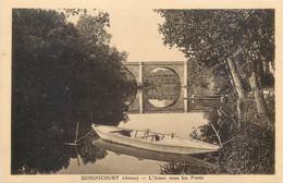 CPA 02 Aisne Guignicourt L'Aisne Sous Les Ponts - Sonstige Gemeinden