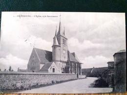 62 , Richebourg ,le Centre Et L'église En 1905 - Other Municipalities