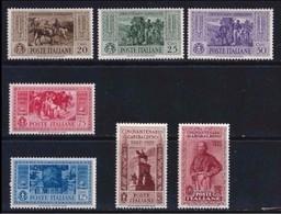 ITALIA  Regno 1932 ⭐ Giuseppe GARIBALDI ⭐ N. 316 . .  * / ** - Serietta - Cat. 200,00 € - N. 1666 - Mint/hinged