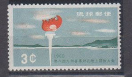 RYU-KYU      1960   N°  78    ( Neuf Sans Charniére )  COTE     10 € 00     ( F 453 ) - Asia (Other)