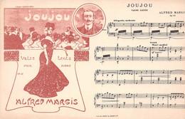 Musique - Partition - Joujou, Valse Lente Pour Piano Par Alfred MARGIS - A Madame Georges Enoch - Illustration - Singers & Musicians