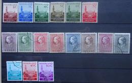 NEDERLAND  Dienstzegels  1951    D 27 - 32 / D 33 - 40 En D 41 - 43         Gestempeld   CW 20,00 - Dienstzegels