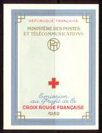 France Carnet 1959 Yvert 2008 ** TB Croix Rouge - Cruz Roja