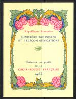 France Carnet 1965 Yvert 2014 ** TB - Cruz Roja