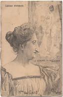 : Illustrateur ORENS Série Leurs Figures   Mme Du CAST  La Femme Au Masque - Orens