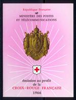 France Carnet 1966 Yvert 2015 ** TB - Cruz Roja