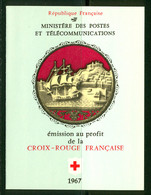 France Carnet 1967 Yvert 2016 ** TB - Cruz Roja