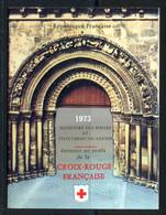 France Carnet 1973 Yvert 2022 ** TB - Cruz Roja