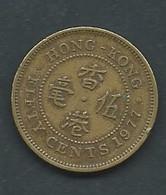 Piece   Hong Kong - 50 Cents - 1977  - Pic 5112 - Hong Kong