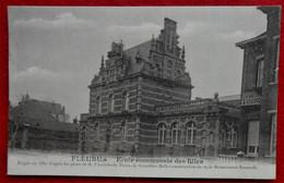 CPA 1913 Fleurus - Ecole Communale Des Filles - Fleurus