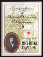 France Carnet 1978 Yvert 2027 ** TB - Cruz Roja