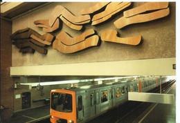 BRUXELLES - STATION PETILLON - Subway