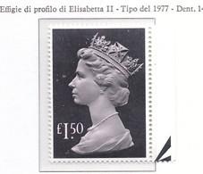 PIA - GRAN BRETAGNA - 1986 : Serie Corrente - Effigie  Della Regina  Elisabetta II  -  (Yv  1239) - Ungebraucht