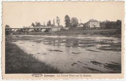 Jamoigne - Le Grand Pont Sur La Semois - Edit. Jacob-Duhez/Préaux - Chiny