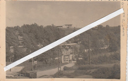 Buvrinnes , BINCHE PLAGE ( Entrée Du CAMPING ) Photocarte Gérard Lebrun En 1930 ? - Binche