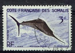 Côte Des Somalis, Poisson-pique, 1959, Obl, TB - Gebraucht