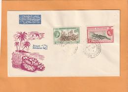 British Honduras 1953 FDC - British Honduras (...-1970)