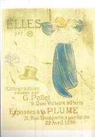 F15 Cpa / CARTE CPM Publicitaire PUB Advertising Card  Cart' Com Publicité TOULOUSE Toulouse-Lautrec AFFICHE - Toulouse