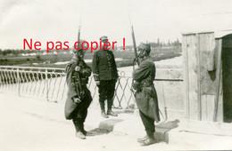 PHOTO FRANCAISE DU 41e RIT - LA GARDE DU PONT A ART SUR MEURTHE PRES DE NANCY MEURTHE ET MOSELLE - GUERRE 1914 1918 - 1914-18