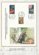 MONACO DOCUMENT FDC 1974 EXPLORATION SCIENTIFIQUE MEDITERRANEE - Covers & Documents