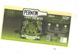 "Czech Republic - Minibrewery Permon In City Sokolov, ""Incantator Hops"" Beer ,  Self-adhesive - Birra"