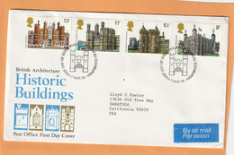 Great Britain 1978 FDC Mailed - 1971-1980 Dezimalausgaben