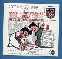 ⭐ France - Bloc Souvenir CNEP - YT N° 11 ** - Neuf Sans Charnière - 1989 ⭐ - CNEP