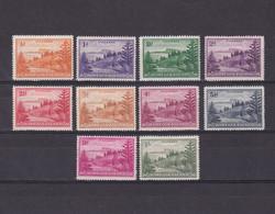 NORFOLK ISLANDS 1947, SG #1-11, Landscapes, Part Set MH - Norfolk Island