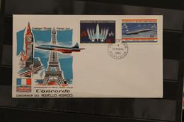 New Hebrides FDC Concorde, 1968 - Concorde