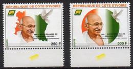 Ivory Coast Cote D'Ivoire  2019. 150th Anniversary Of The Birth Of Mahatma Gandhi. MNH - Ivory Coast (1960-...)