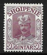 """ALBANIA 1914 - """" Wilhelm Von Wied """" Gimjani No: 65 - MNH - Albania"""