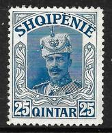 """ALBANIA 1914 - """" Wilhelm Von Wied """" Gimjani No: 64 - MNH - Albania"""
