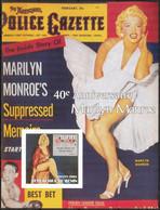 {F0088i} LABEL Cinema Marilyn Monroe IV S/S Imperf. MNH Cinderella ! - Fantasy Labels