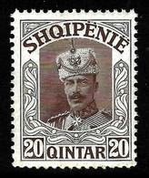"""ALBANIA 1914 - """" Wilhelm Von Wied """" Gimjani No: 63 - MNH - Albania"""