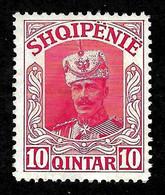 """ALBANIA 1914 - """" Wilhelm Von Wied """" Gimjani No: 62 - MNH - Albania"""