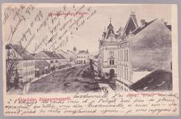 CPA Hongrie -  Üdvözlet Zalaegerszegről - Zalaegerszegi Fő-tér - 1902 - Hungary