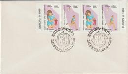 Turkish Cyprus 1989 FDC Europa CEPT   (G129-39) - 1989