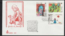 Italy 1989 FDC Europa CEPT   (G129-39) - 1989