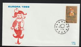 Belgium 1989 FDC Europa CEPT   (G129-39) - 1989