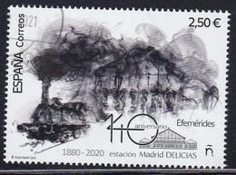 2021-ED. 5474 SERIE COMPLETA -. Efemérides. 140 Aniversario Estación De Ferrocarril Madrid Delicias - USADO - 2011-... Used
