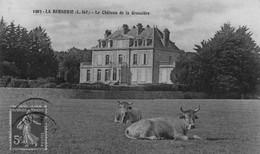 LA BERNERIE - Le Château De La Gressière - Vaches Au Repos - La Bernerie-en-Retz